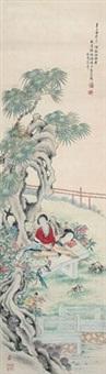 仕女 by xu yuanfang