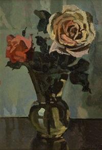vaso di rose by llewelyn lloyd