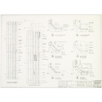 world trade center (north tower) dorner elevations and plans of typical floor & by minoru yamasaki