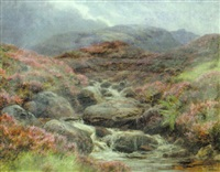 a highland burn, invernesshire by james faed the younger