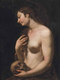 the penitent magdalen by johann karl loth
