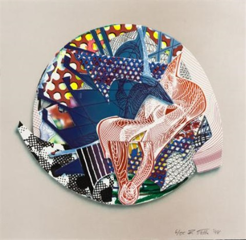 roncador from imaginary places iii by frank stella