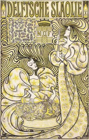 delftsche slaolie by jan toorop