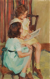 the sisters by ellen day hale