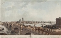 view of london taken from albion place, blackfryars bridge (after n.r. black) by joseph constantine stadler