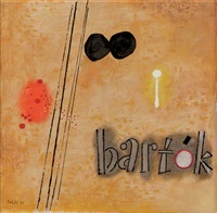 bartok - a record cover design by jan roëde