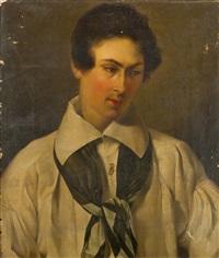 ritratto di giovane uomo by angelo adolfo levi