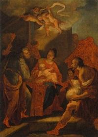 die anbetung der hirten by domenico corvi