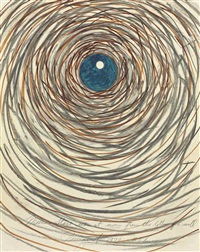 moon + stars seen at noon from the bottom of a well by james rosenquist