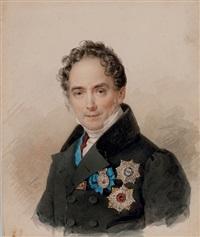 portrait of prince victor pavlovich kotchubey by petr fedorovich sokolov