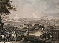 surprise de mannheim... angriff der österreichischen truppen auf mannheim am 18. september 1799 (from große napoleonische schlachten) by johann lorenz rugendas the younger