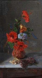 Jarrón con flores by José María Bracho Murillo on artnet