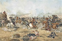 the battle of sobraon, 10th february 1846 by henry martens