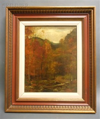 the woods in autumn by john francis murphy
