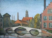 the belfry, bruges by arnold auerbach