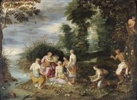 allegory of plenty by antwerp school