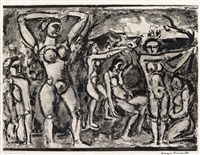 automne by georges rouault