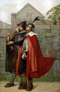 two cromwellian soldiers by william henry fisk