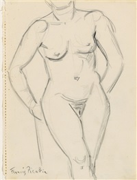femme nue by francis picabia