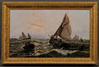 north sea trawlers by thomas rose miles