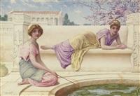 spring idyll by henry ryland