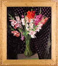 gladioli by charles avery aiken