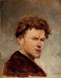 portrait of the artist vassily maximov by petr fedorovich sokolov