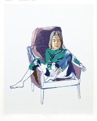 portrait of olivia by alice neel