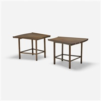 occasional tables (pair) by edward wormley