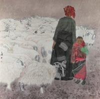 旷野 (shepherd) by liang wenbo