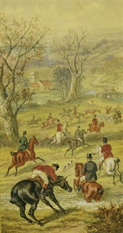 the finale of the foxhunt by edward benjamin herberte