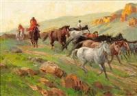 bringing in the police ponies, zacha's nek by allerley glossop
