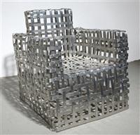 strap armchair by shlomo harush