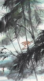 竹鸟 by chen peiqiu
