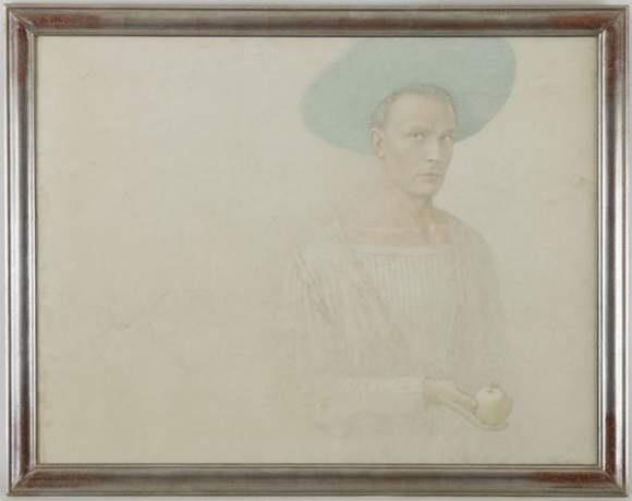 portrait de alarico palmieri by victor koulbak