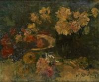 composition aux fleurs by victor simonin