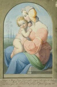die madonna mit dem jesuskind by giovanni sanguinetti