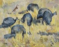 guinea fowl by zakkie (zacharias) eloff