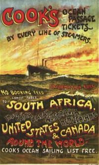 cook's south africa, united states & canada by posters: tourism