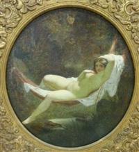 jeune femme alanguie by henri pierre picou