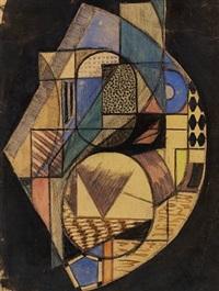 kubistisk komposition by frederick wilhelm christian carlsen freddie