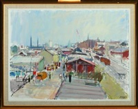århus fiskerihavn/port of århus by per flemming