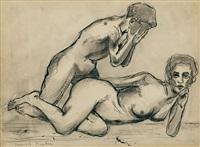 untitled (les deux amants) by francis picabia