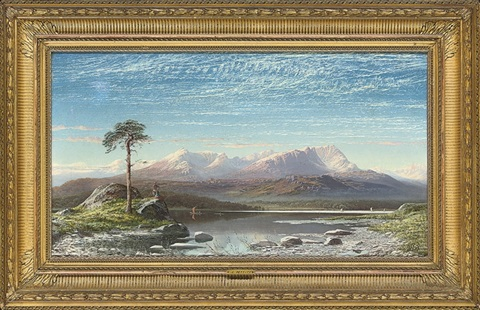 the first snow the mountains of coniston by charles pettitt