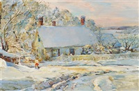 winter at annisquam by marian williams steele