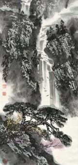 瀑响松声 by liu baochun