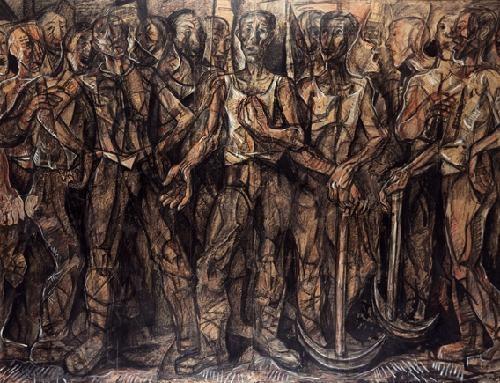obreros de sestao from hombres de vizcaya series by waldo aguiar