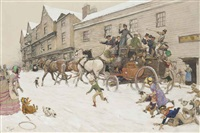 in the days of dickens by cecil charles windsor aldin