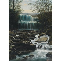 falls at waterdown by henry nesbitt mcevoy