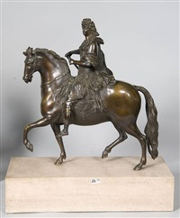 louis xiv à cheval by françois girardon